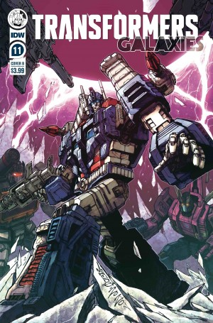 IDW Transformers Comic Book Solicitations for September 2020