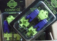 Transformers News: In Package images of CMDW-02 G1 Devastator Hip and Thigh Upgrade Set