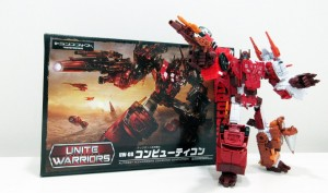 Transformers News: New Box Image - Takara Tomy Transformers Unite Warriors UW-08 Computicon (Computron)