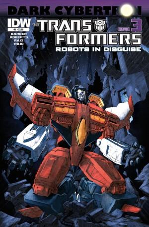 Transformers News: Sneak Peek: Robots in Disguise #23 (Dark Cybertron 3)