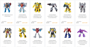 All Transformers Cyberverse Wave 1 and Prime Masters Wave 2-3 Available HTS