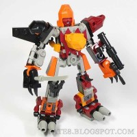Transformers News: In-Hand Images: Kre-O Transformers Micro Changers Combiners Predaking