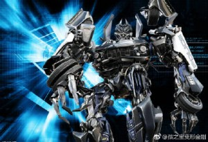 Hasbro Transformers Movie Masterpiece MPM-5 Barricade Weibo Contest