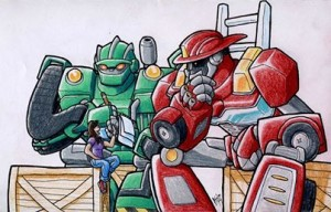 Facebook Page Transformers: Rescue Bots Interview with Nicole Dubac