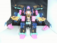 Transformers News: Bot Mode Images for Oil Pan, BotCon Double Punch and Slicer