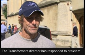 Transformers News: Transformers 5: The Last Knight: Michael Bay Responds to Churchill Controversy