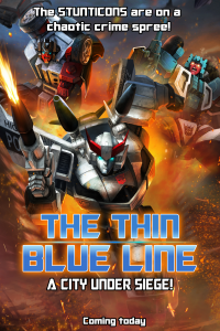 "Transformers News: Transformers: Legends ""The Thin Blue Line"""