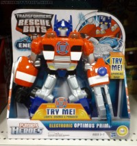 Transformers News: New Rescue Bots Energize Figures Found at Retail