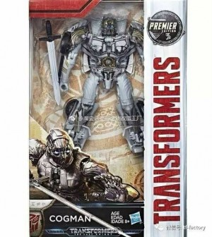 Finished Product Images of Deluxe Cogman from Transformers: The Last Knight