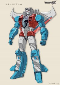 Transformers News: Victory Starscream by Guido Guidi