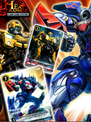 Transformers News: Transformers Takara Trading Card Game