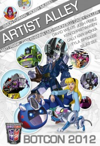 BotCon 2012 Artist Alley Update: Simon Furman and More!