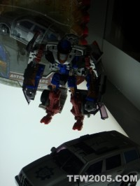 Transformers News: SDCC Images: RotF Gears and Fallen Repaint