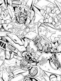 Transformers Infestation II #2 Cover Art