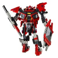 Transformers News: First Look: Kre-O Sentinel Prime - Out of Package Optimus Prime, Megatron and Starscream