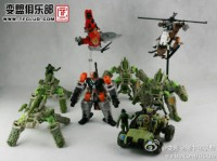 New images of Human Alliance figures Drag Strip, Reverb, Crosshairs and Half-Track