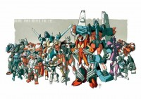 Transformers News: Nick Roche Auto Assembly 2012 Transformers: MTMTE Print in Color