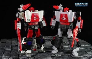 New In Hand Images of Masterpiece MP-14+ Red Alert with Comparison