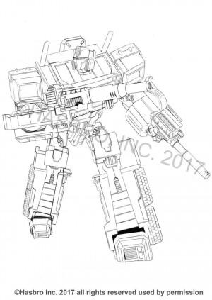 New Transformers Generations Combiner Wars Concept Art from Ken Christiansen: Optimus Prime, Silverbolt