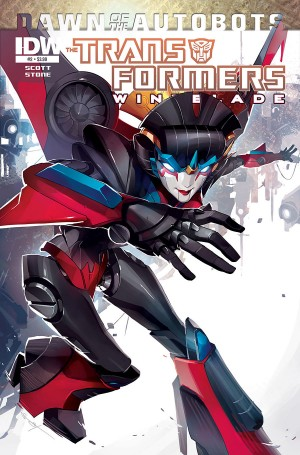 Transformers News: Mairghread Scott Introduces the Transformers to Windblade - Interview