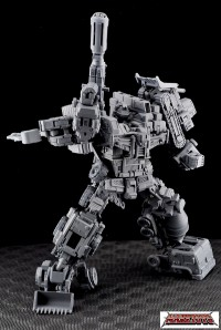 Transformers News: MakeToys MT-03 Giant Fully Revealed