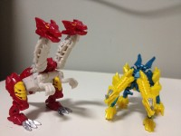 Transformers News: In-Hand Images: Transformers Prime Beast Hunters Cyberverse Legions Hun-Gurrr and Prowl
