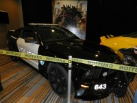 Transformers News: Movie Barricade and Bumblebee Replicas return to TFcon 2012
