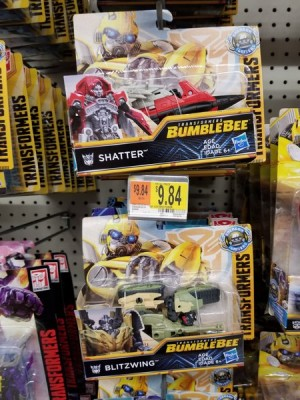 Transformers Bumblebee Power Series Shatter and Blitzwing Found at US Retail