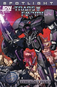Transformers Spotlight: Megatron Exclusive Retail Incentive Cover Revealed