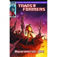 Transformers News: Simon Furman Script (W)Rap Transformers: Regeneration One #84