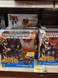 Transformers News: Beast Hunters Voyagers Wave 2 (Shockwave) Found At Retail