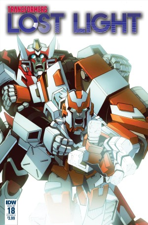 Transformers News: iTunes Preview for IDW Transformers: Lost Light #18