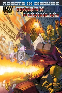 Transformers News: Seibertron.com Reviews IDW Transformers: Robots in Disguise #13