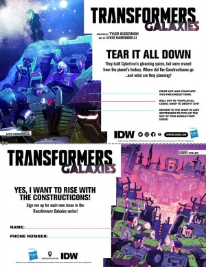SDCC2019 Interview With Transformers Galaxies Writer Tyler Bleszinski