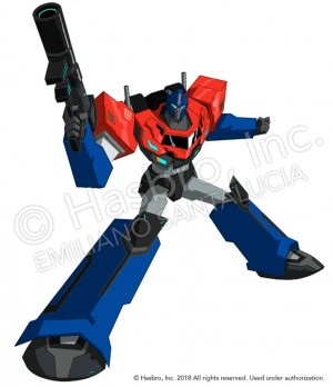 Transformers News: Art of Optimus Prime for Transformers: Robots in Disguise Tiny Titans by Emiliano Santalucia