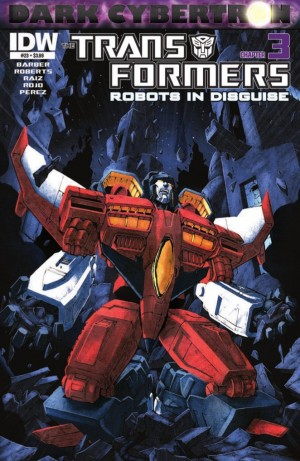 Transformers News: IDW Transformers: Robots in Disguise #23 (Dark Cybertron 3) Preview