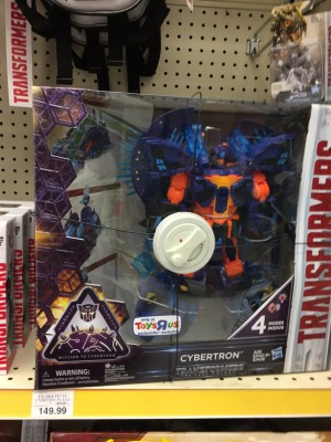 Transformers: The Last Knight Toys R Us Exclusive Transforming Cybertron Sighted At Retail