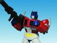 Transformers Milestone: Optimus Prime Statue