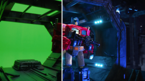 Behind the Scenes of the Transformers War for Cybertron Siege Toy Commercial