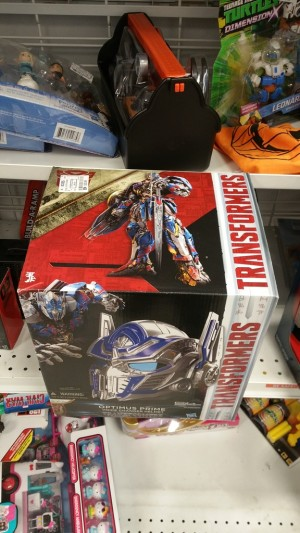 Transformers: The Last Knight Optimus Prime Voice Changing Helmet Found at Ross for $29.99
