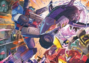 Transformers Cloud Chapter 4 Parts 1 and 2, Plus Hellwarp and Roadbuster Artwork