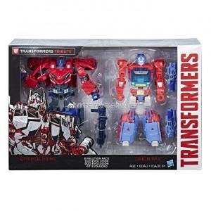 Transformers: Tribute Optimus Prime Orion Pax Evolution Pack Revealed
