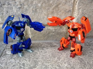 Pictorial Review of Warrior Thermidor from Transformers Robots in Disguise