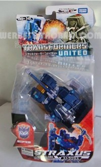 Transformers News: In-Package Image of United Straxus