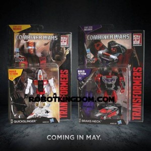 Transformers News: Quickslinger and Brake-neck (aka Slingshot and Wildrider) available for pre-order online