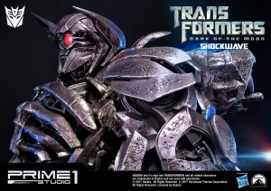 New Images and description of Prime1 Studio Dark Of The Moon Shockwave