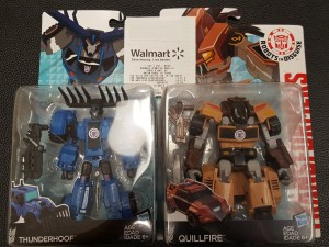 Transformers News: US Retail Sighting - Transformers Robots in Disguise Warrior Class Thunderhoof and Quillfire