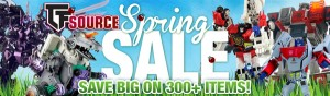 TFsource SourceNews! SAVE BIG on 300+ Items during the Spring Sale!