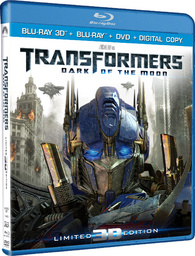 Transformers News: Transformers: Dark of the Moon 3-D Blu-ray Review