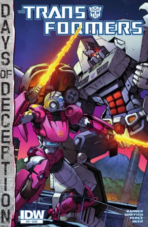 Transformers News: IDW The Transformers #37 Full Preview